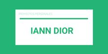 Iann Dior