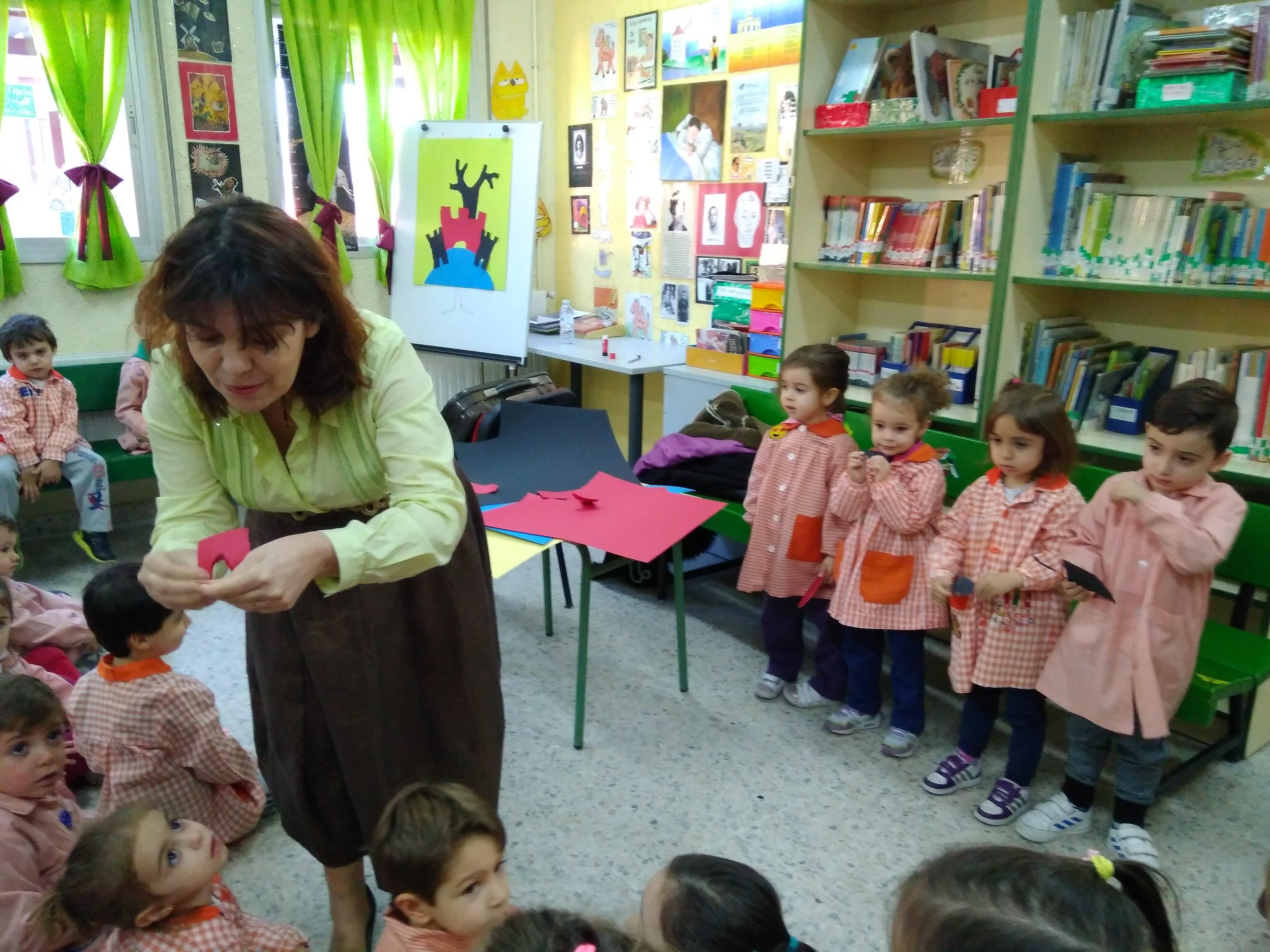 Visita Violeta Monreal
