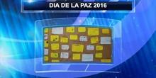 DIA DE LA PAZ 2016. CEIP JUAN GRIS