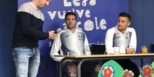 Jugadores del CD Leganés visitan el cole 4