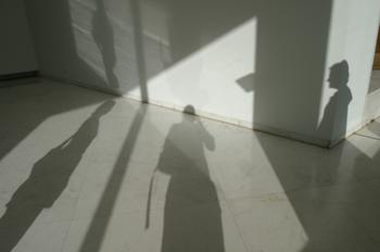 Sombras en el Centro Gallego de Arte Contemporáneo, Santiago de