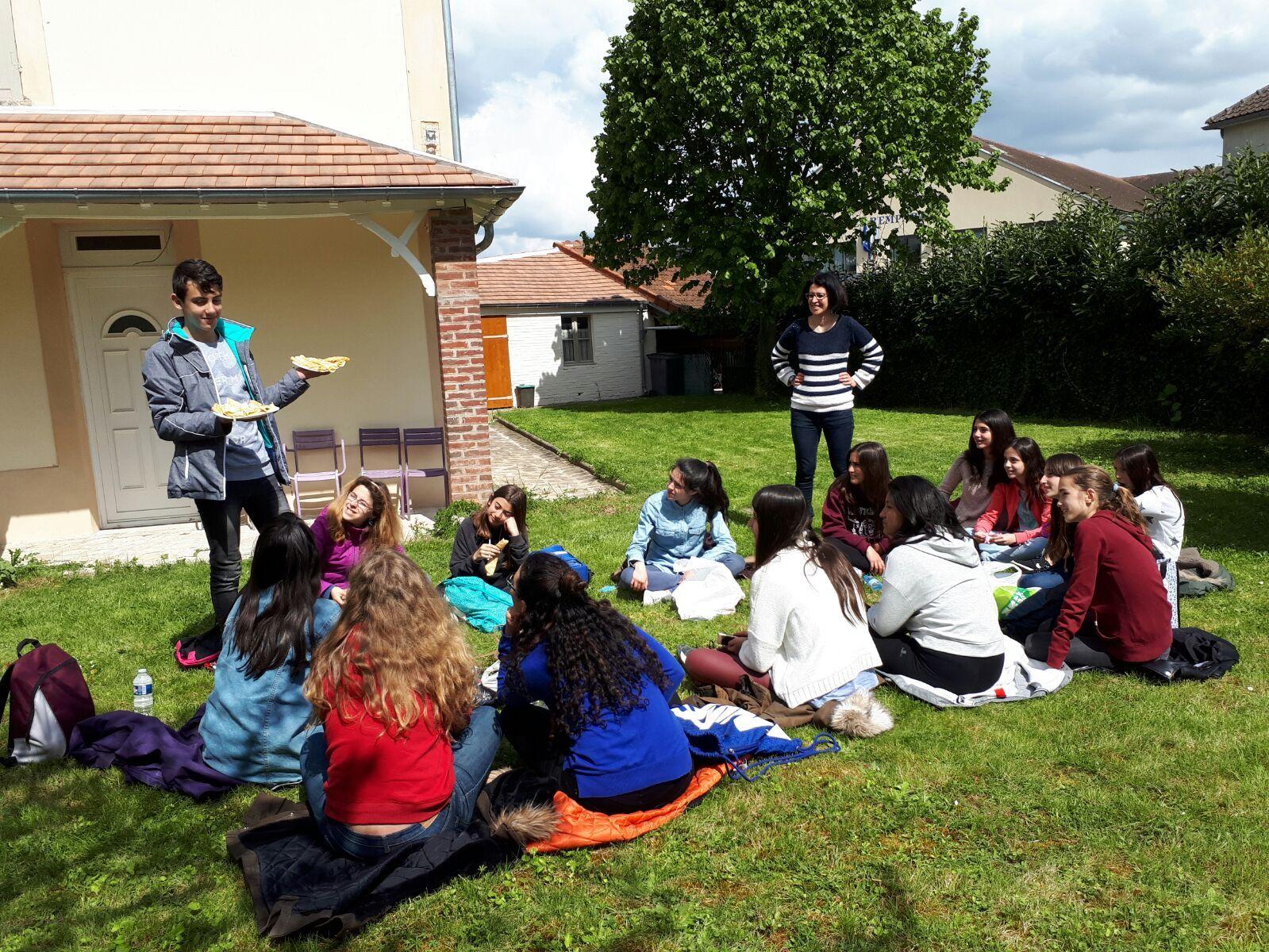 Intercambio Collège les Remparts. Abril 2017 18