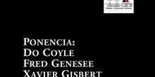 Panel: Ponentes pleanarios (Do Coyle, Fred Genesee y Xavier Gisbert)