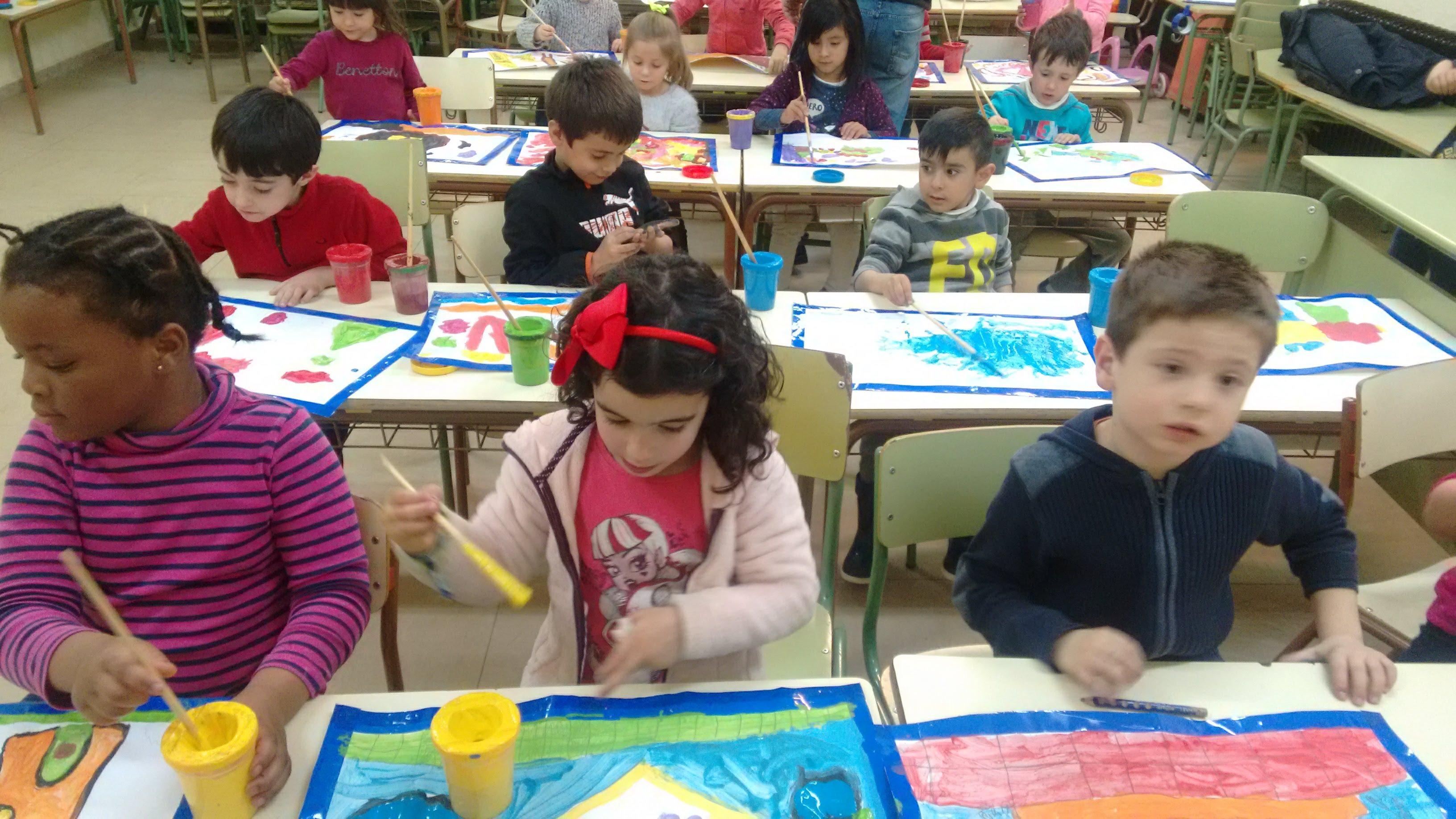 TALLER DE PINTURA CREATIVA ED. INFANTIL 25