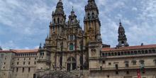 Fachada del Obradoiro, Catedral de Santiago de Compostela, La Co