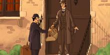 La vuelta al mundo en ochenta días: Mr. Fogg y su criado comienz