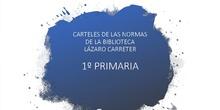 Normas del Biblioteca Lázaro Carreter. Villanueva de la Cañada