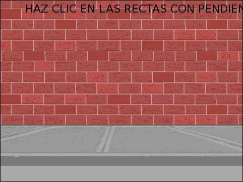PENDIENTE DE LA RECTA