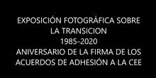 """EXPOSICIÓN FOTOGRÁFICA """"LA TRANSICIÓN"""" IES LAS MUSAS"""