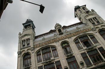 Feestlokaal van Vooruit, Gante, Bélgica