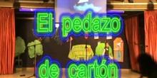 """Obra de teatro """"El pedazo de cartón"""" CEIP Juan Gris de Madrid"""