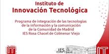 Presentación del Instituto de Innovación Tecnológica Rosa Chacel (Colmenar Viejo)