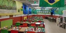 BRASIL EN EL COMEDOR