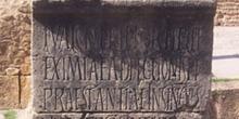 Inscripción, Ruinas romanas de Sbeitla, Túnez