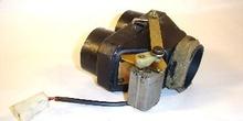Motor de accionamiento de trampillas de aireación. Detalle inter