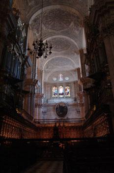 Coro de la Catedral de Granada, Andalucía
