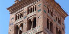 Detalle campanario mudéjar, Catedral de Teruel