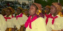 Coro de mujeres, Nacala, Mozambique