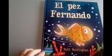 """Lectura compartida y dialogada """"El pez Fernando""""."""
