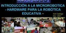 Seminario de Introducción a la Microrobótica - Hardware para la robótica Educativa