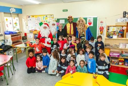 Los RRMM y Papá Noel en INF 5A 39