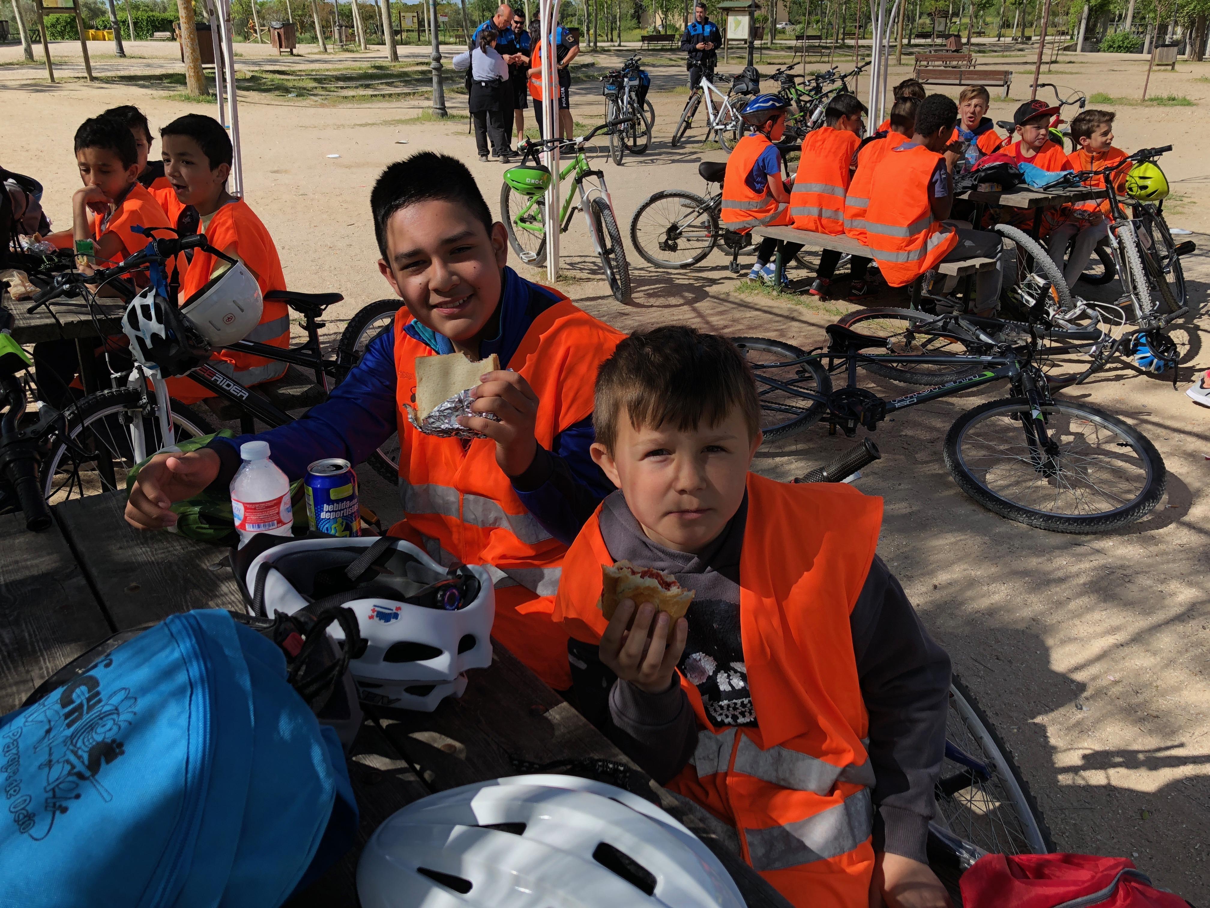 Salida en bicicleta a Polvoranca 19