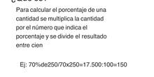 PRIMARIA - 6º - CALCULAR EL TANTO POR CIENTO DE UN NÚMERO - MATEMÁTICAS - FORMACIÓN.MP4