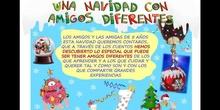 UNA NAVIDAD CON AMIGOS DIFERENTE INFANTIL 5 AÑOS
