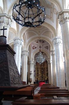 Nave central, Catedral de Baeza, Jaén, Andalucía