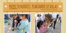 Proyecto Buddies plantando 4 años y 5º (abril 2018)