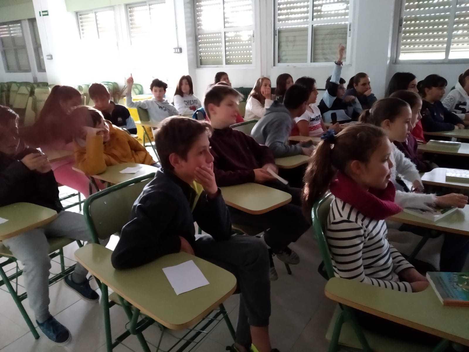 2019_04_25_Quinto A recibe a Raquel Míguez, escritora..._CEIP FDLR_Las Rozas  11