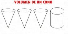 Volumen de un cono