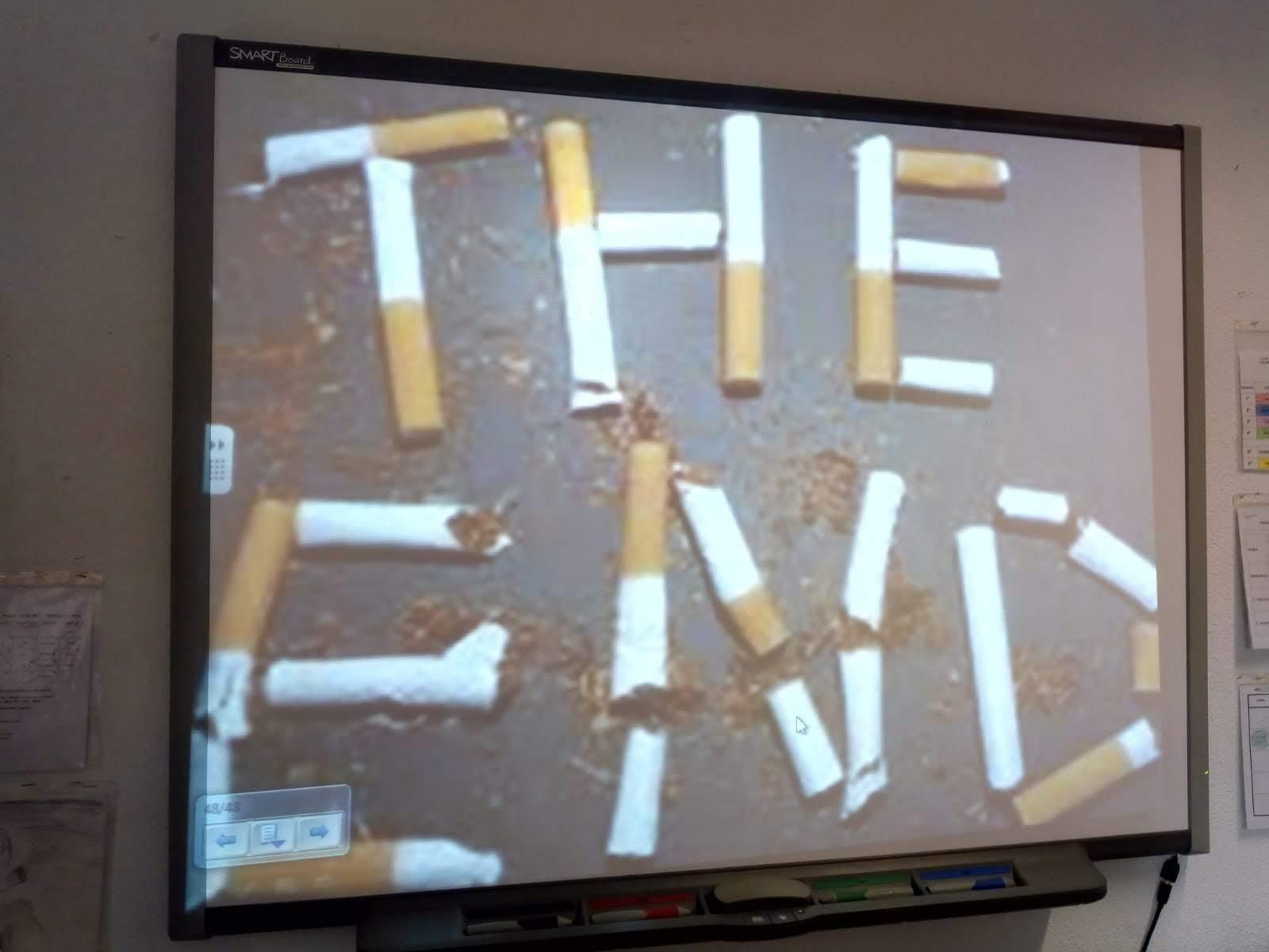 Charla sobre el tabaco 1