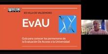 ORIENTACIÓN 2º BACHILLERATO 2021 - EVAU, UNIVERSIDAD Y GRADO SUPERIOR