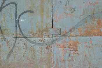 Chapa metálica pintada