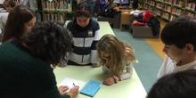 2019_Quinto B visita la biblioteca municipal_CEIP FDLR_Las Rozas 6