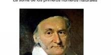 SECUNDARIA 1º - FORMULA DE GAUSS - VICTORIA ALDUDO - MATEMÁTICAS - FORMACION