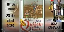 LECTURA DEL QUIJOTE EN DIRECTO DÍA DEL LIBRO
