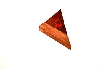 Cartabón de madera