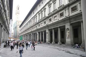 Galleria degli Uffizi y Palazzo della Signoria, Florencia