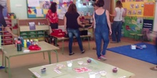 Eduación Infantil 3 años A Taller multisensorial Actividad