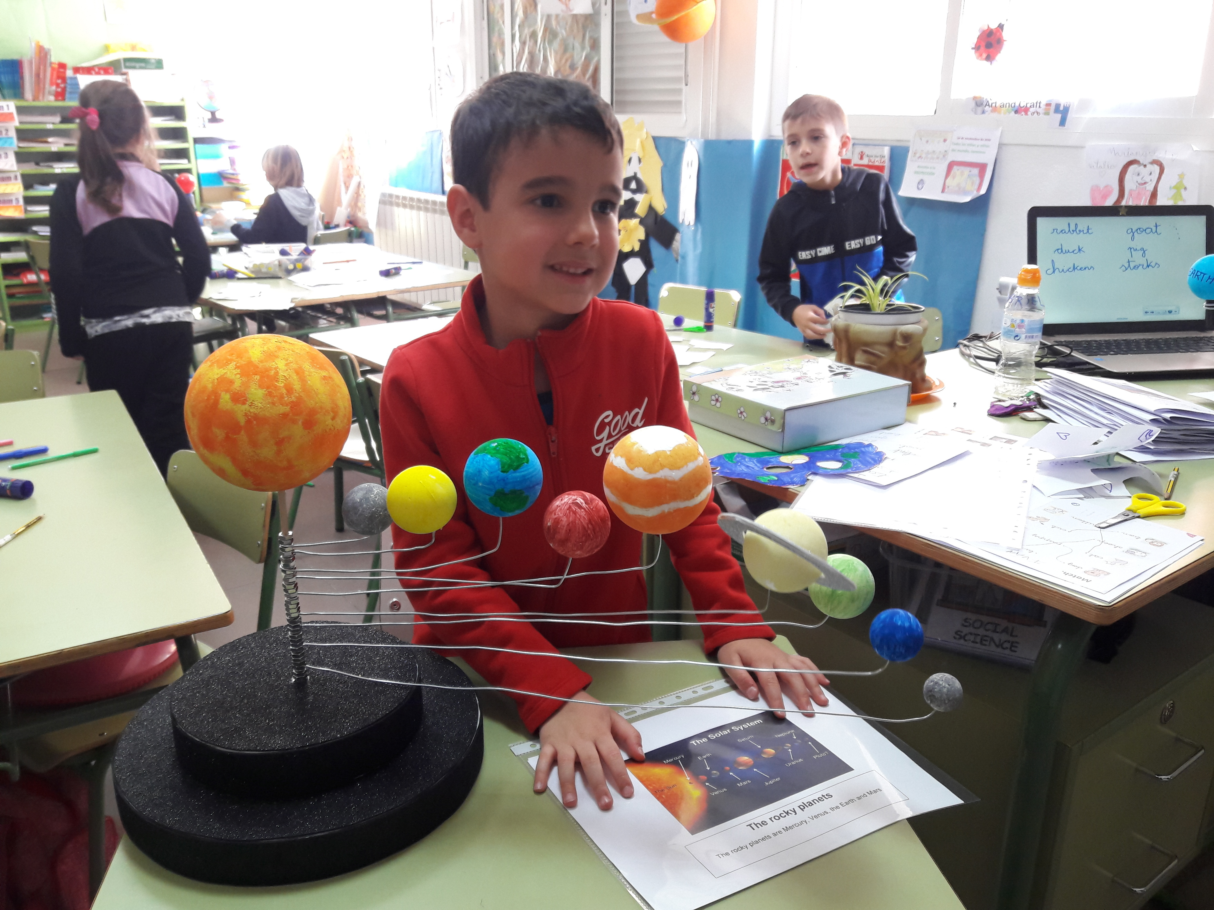 Our Solar System is at School 14