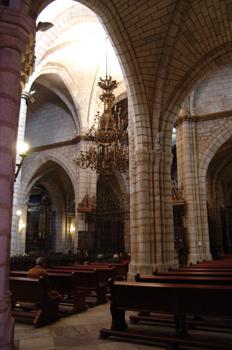 Nave central, Catedral de Badajoz