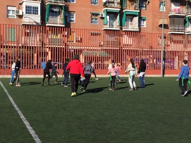 MAÑANAS ACTIVAS. Polideportivo San Vicente de Paul 1. Boxeo, Rugby, Padel y Hockey 9