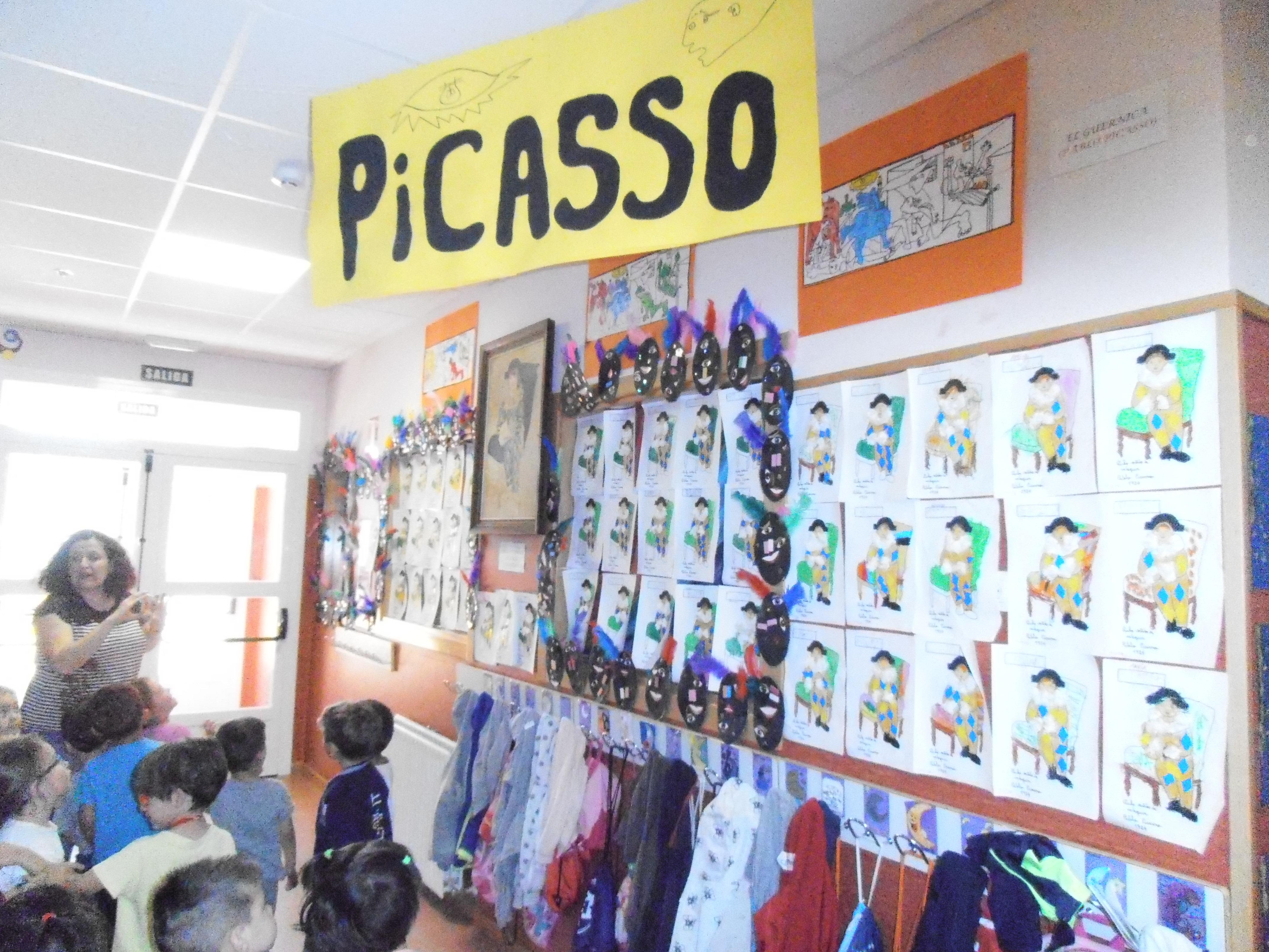 Pintores en Educación Infantil