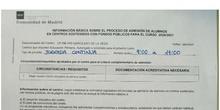 INFORMACIÓN SOBRE EL PROCESO DE ADMISIÓN DE ALUMNOS EN CENTROS SOSTENIDOS CON FONDOS PÚBLICOS PARA EL CURSO 2020/2021