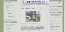 Moodle 2: Cómo incorporar un vídeo de la Mediateca