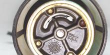 Bomba de gasolina elétrica sumergible. Detalle de la boca de suc