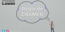 Regla de Cramer