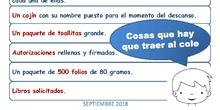 Infantil 3 años_Material Solicitado_CEIP Fernando de los Ríos_Las Rozas_2018-2019